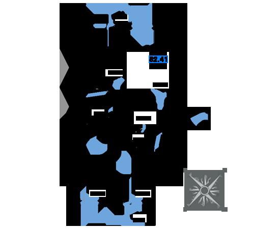 ЖК Рациональ, Корпус 1 в ЖК Рациональ, Секция 2, Этаж 7, №311