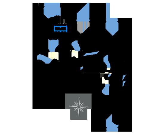 ЖК Рациональ, Корпус 2 в ЖК Рациональ, Секция 2, Этаж 1, №23