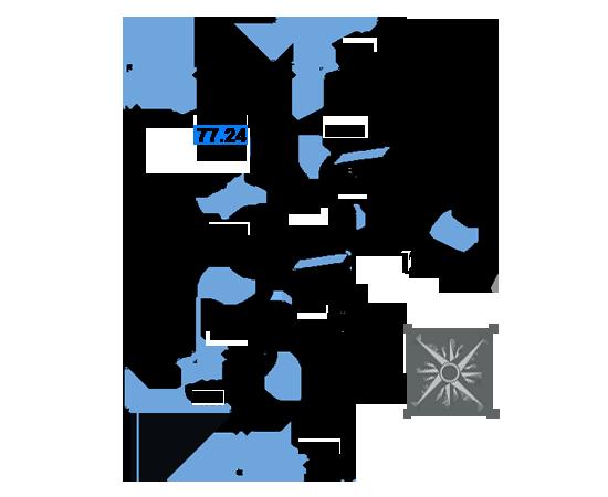 ЖК Рациональ, Корпус 1 в ЖК Рациональ, Секция 3, Этаж 11, №588