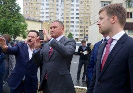 Герман Елянюшкин оценил проект пешеходной зоны Реутова